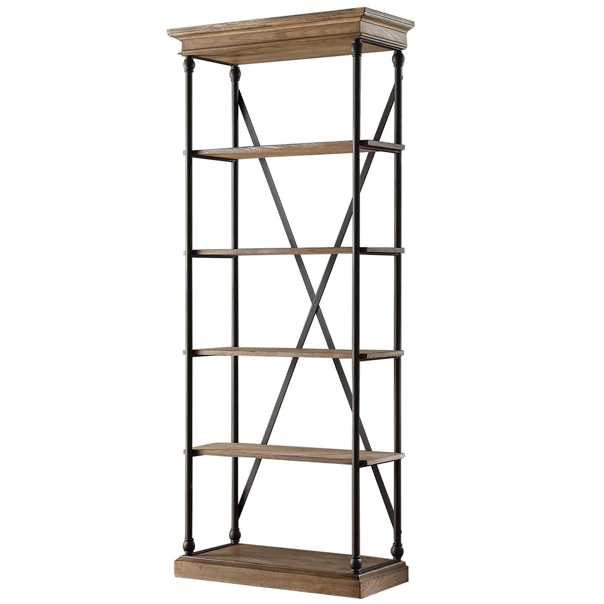 Modern & Contemporary Caitlyn Etagere Bookcase (View 18 of 20)