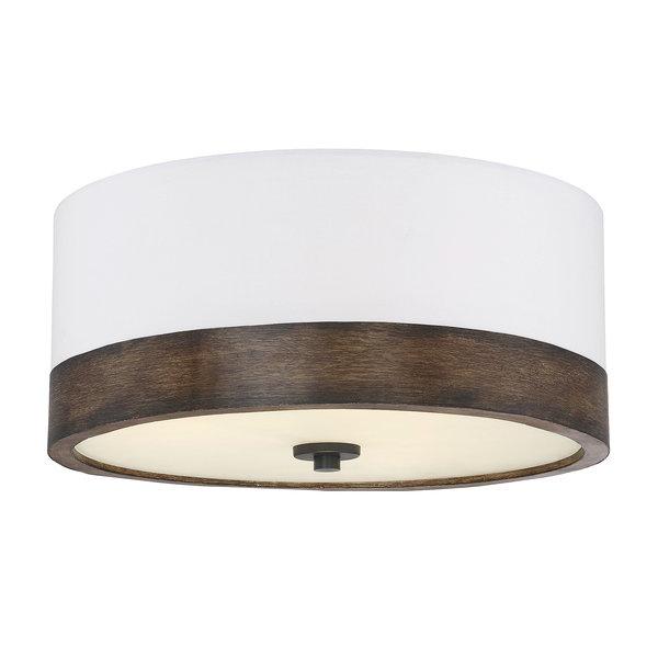 Modern & Contemporary Flush Mount Drum Light (View 24 of 25)