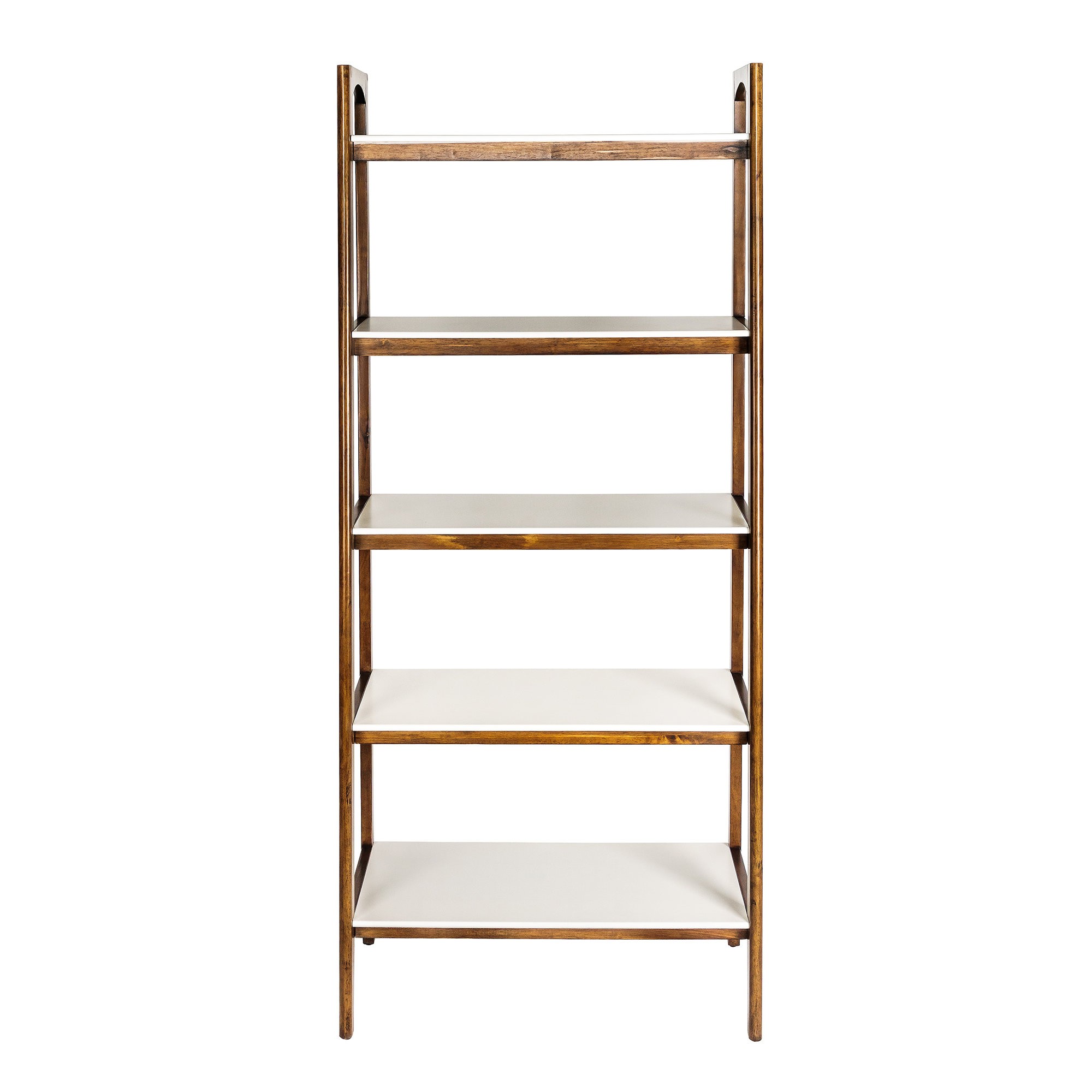 Modern & Contemporary Narrow Ladder Shelf (View 11 of 20)