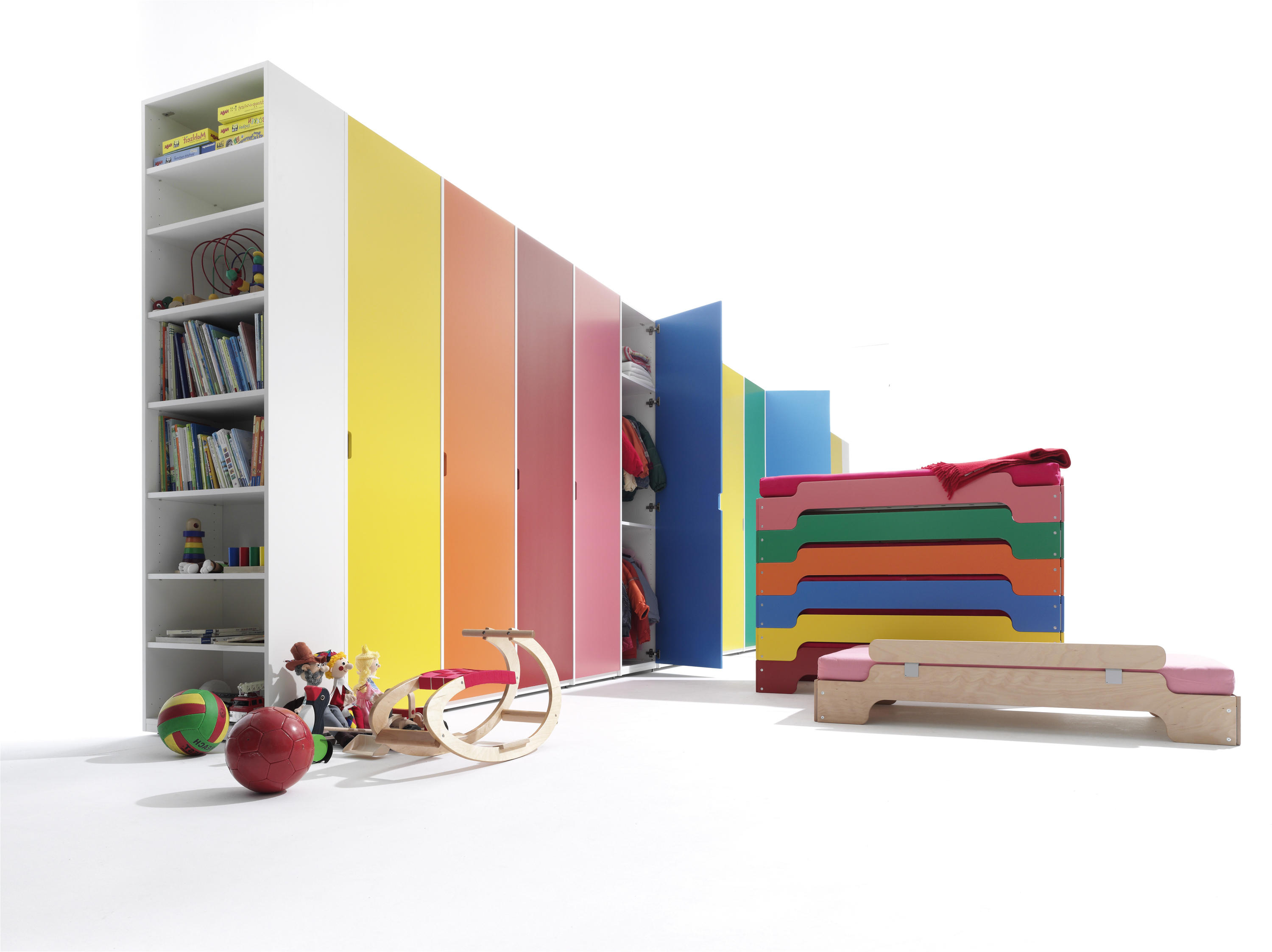 Modular Stackable – Cabinets From Müller Möbelwerkstätten Throughout Well Liked Moeller Standard Bookcases (View 17 of 20)