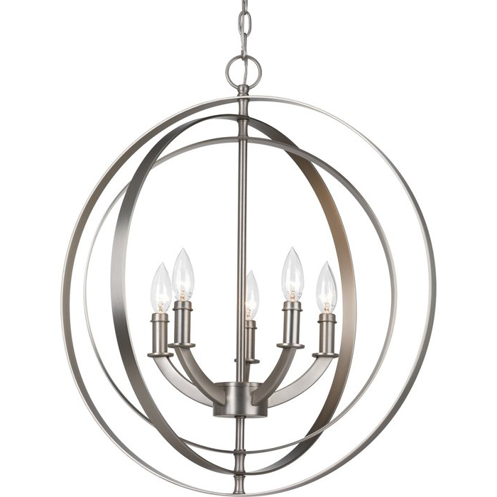 Morganti 5 Light Chandelier For Best And Newest Morganti 4 Light Chandeliers (View 3 of 25)