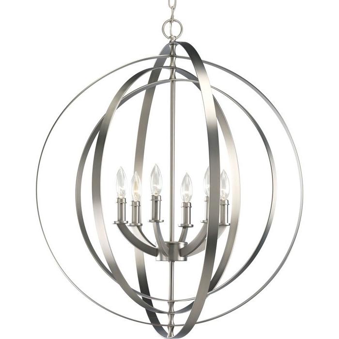 Morganti 6 Light Globe Chandelier Within Trendy Morganti 4 Light Chandeliers (View 5 of 25)
