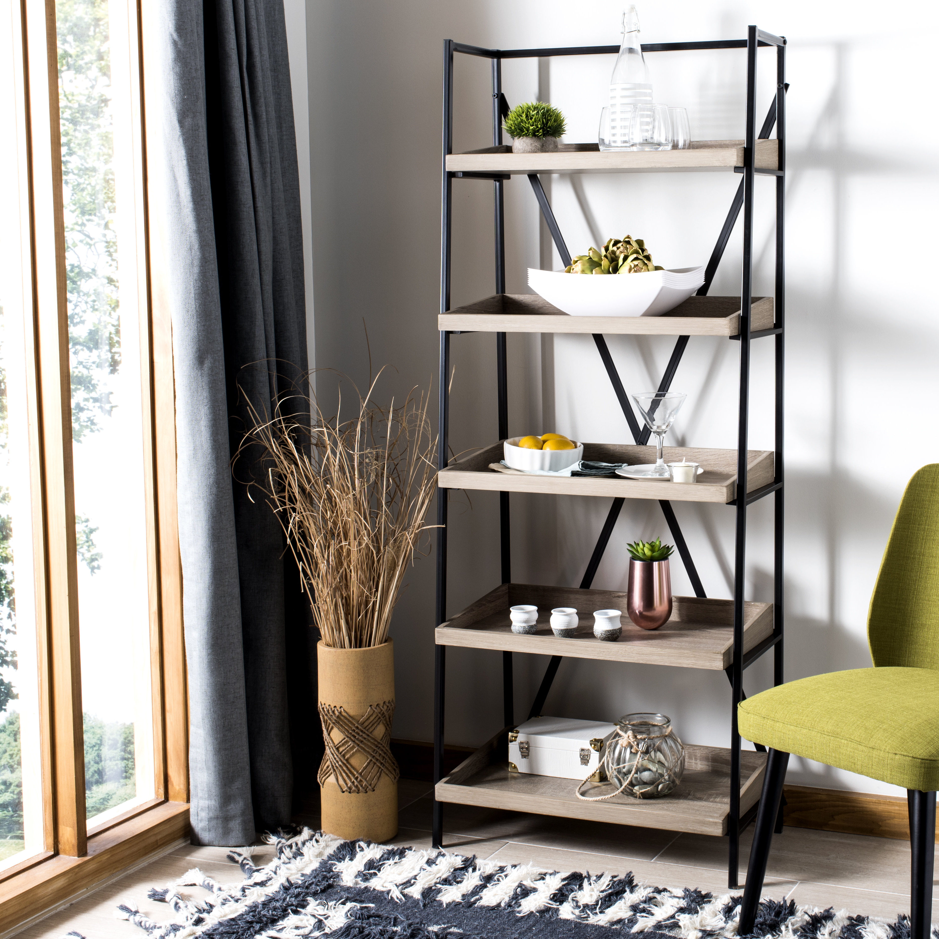 Moriann Etagere Bookcases Throughout Latest Sherry Etagere Bookcase (View 10 of 20)
