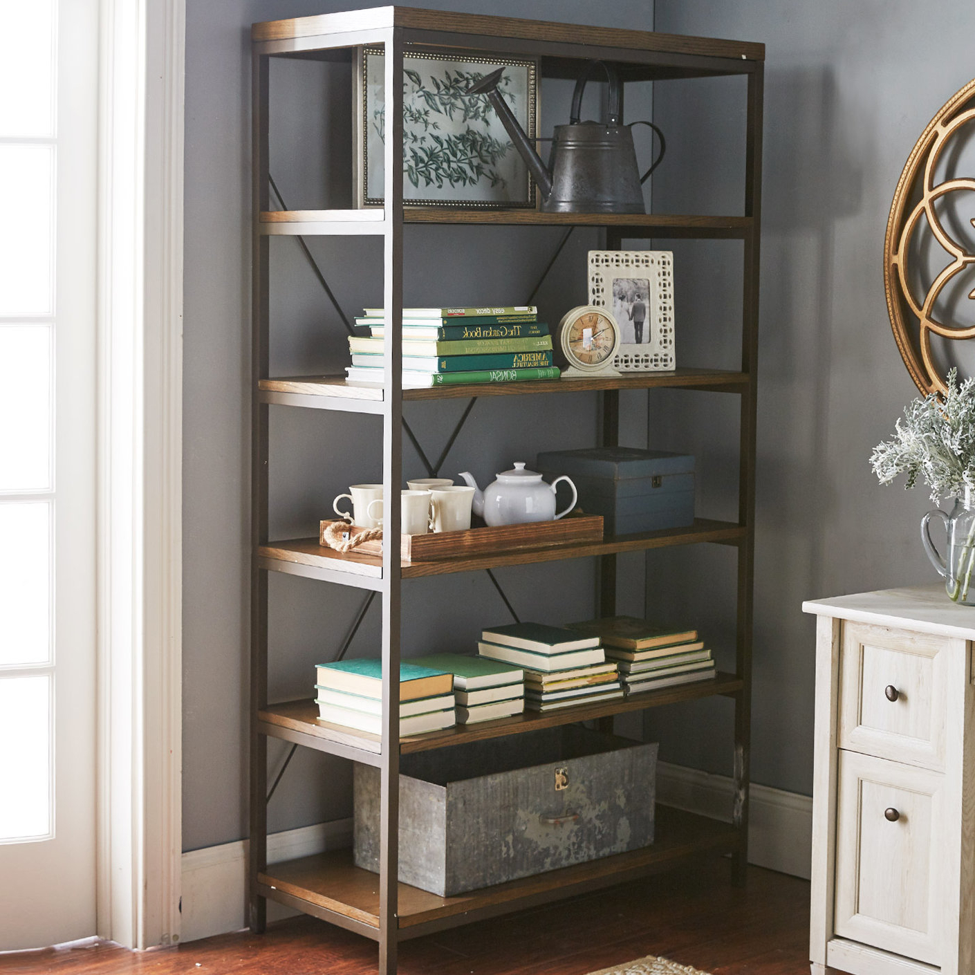 Moriann Etagere Bookcases Throughout Widely Used Helene Etagere Bookcase (View 11 of 20)