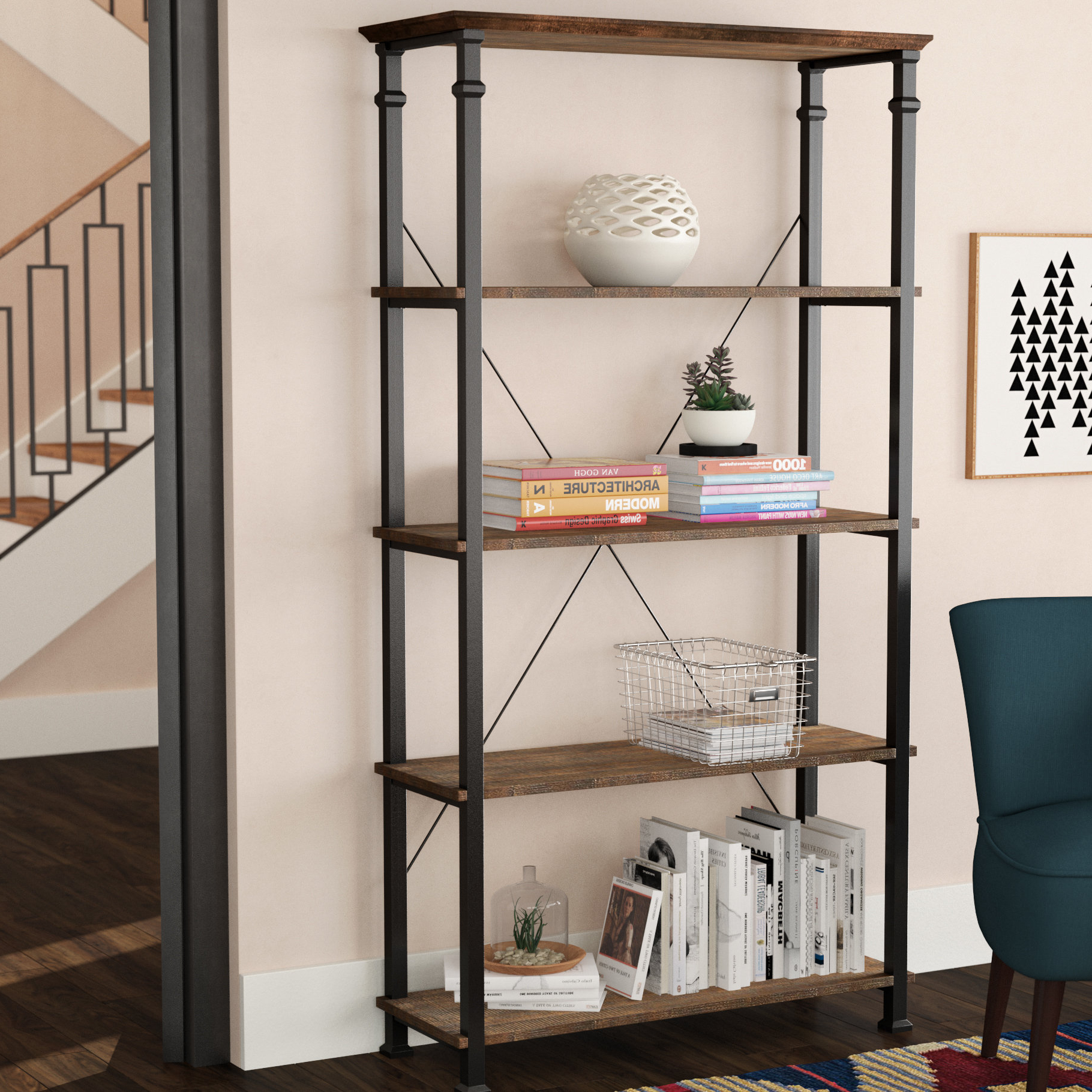 Moriann Etagere Bookcases With Regard To Best And Newest Zona Etagere Bookcase (View 12 of 20)