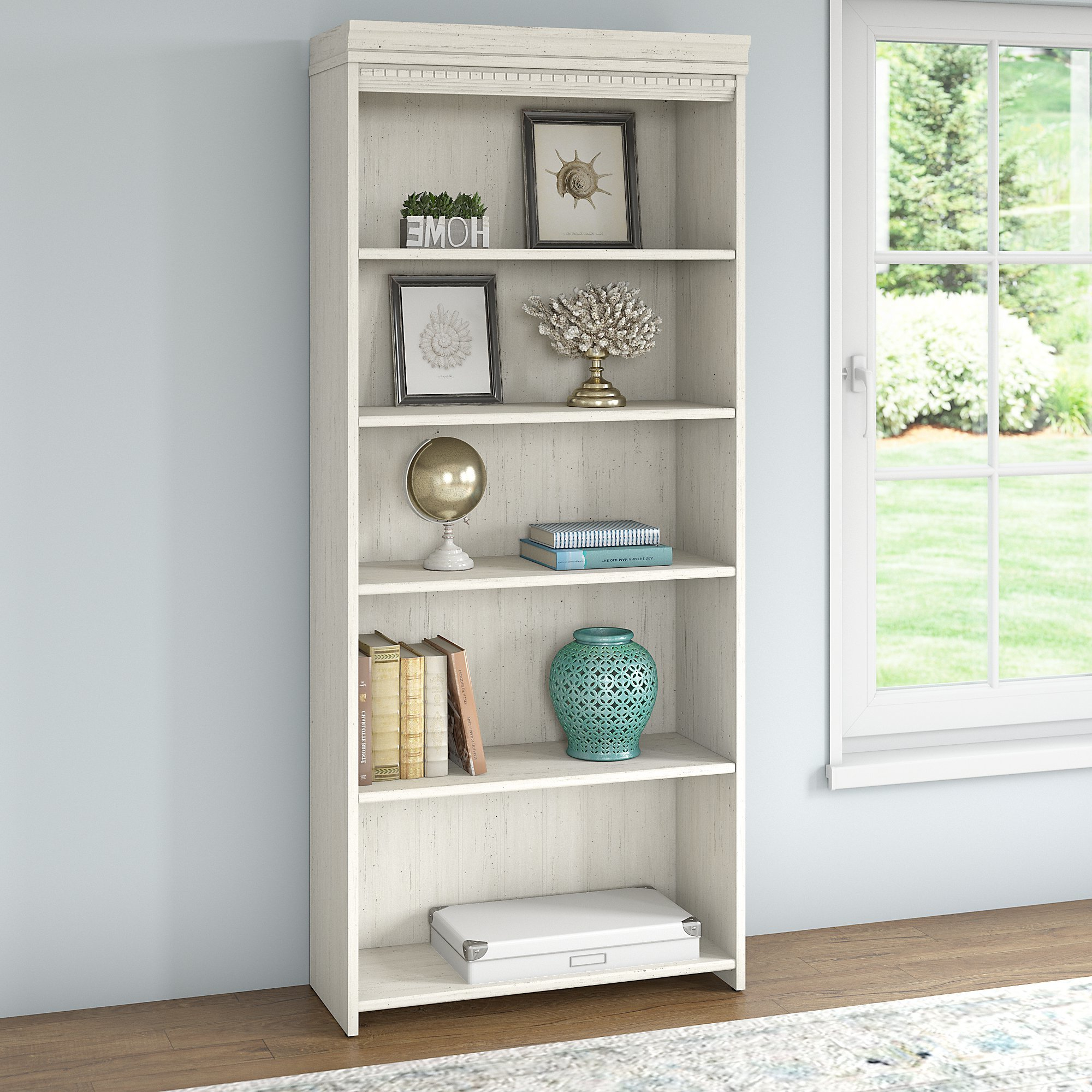 Morrell Standard Bookcases Intended For Trendy Beachcrest Home Oakridge Standard Bookcase & Reviews (View 7 of 20)