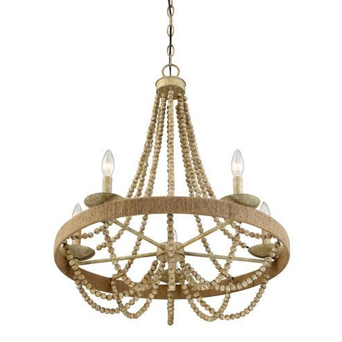 Most Current 251 First Selby Natural Wood Five Light Chandelier (View 13 of 25)