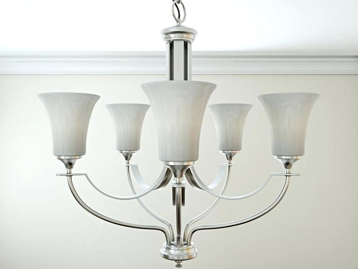 Most Current 5 Light Shaded Chandelier Chandeliers 5 Light Shaded For Crofoot 5 Light Shaded Chandeliers (View 14 of 25)