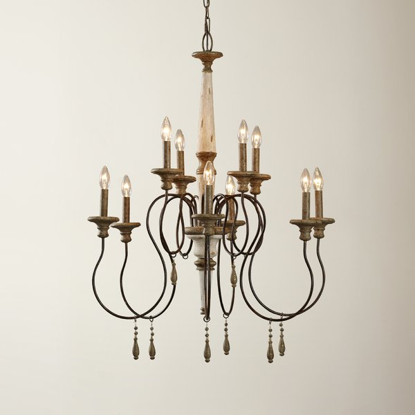 Most Current Armande Candle Style Chandeliers Inside Armande Candle Style Chandelier (View 4 of 25)