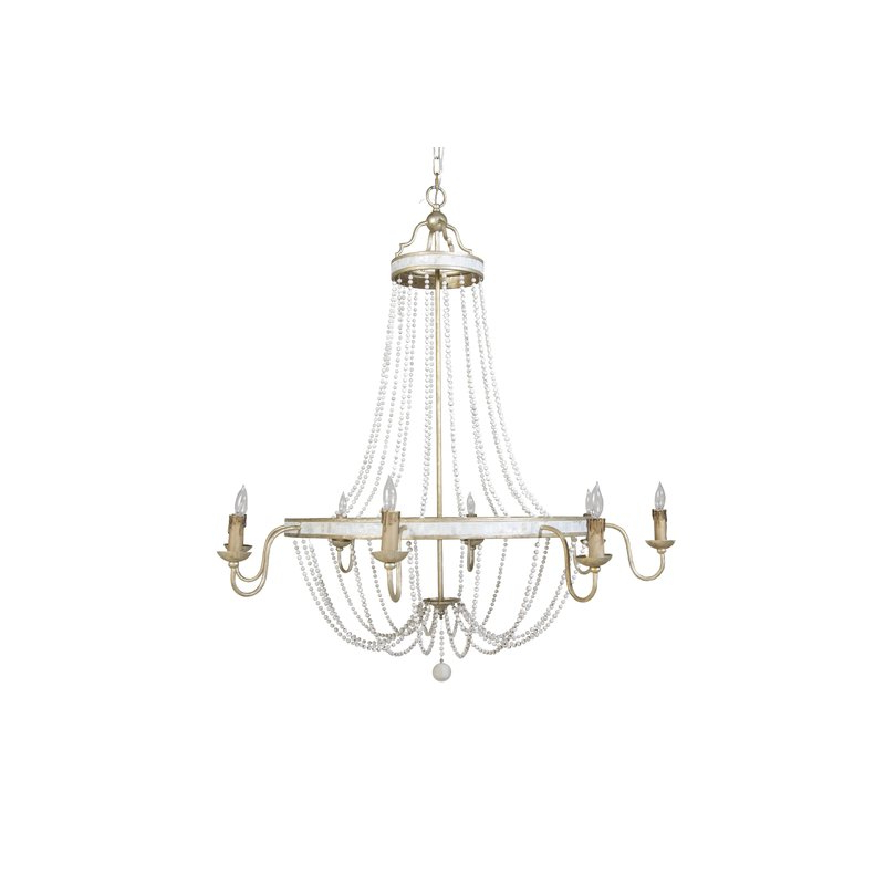 Most Current Duron 5 Light Empire Chandeliers Pertaining To Corinna 8 Light Empire Chandelier (View 14 of 25)