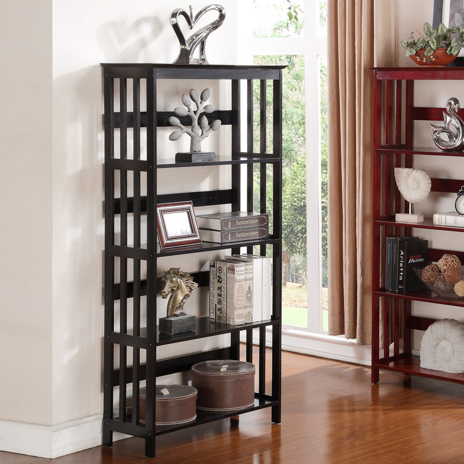 Most Current Farmhouse & Rustic Red Barrel Studio Bookcases & Bookshelves Throughout Vas Corner Bookcases (View 19 of 20)