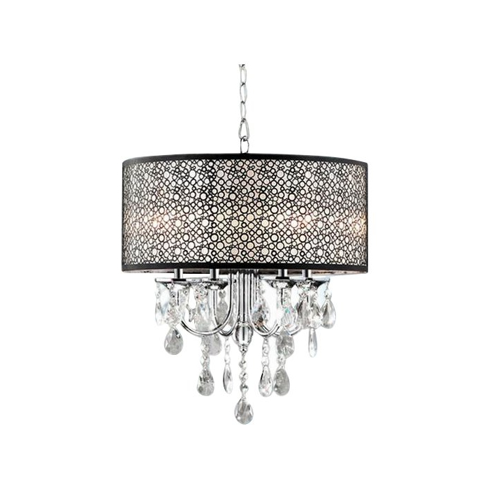 Most Current Jill 4 Light Drum Chandeliers With Regard To Sinead 4 Light Chandelier (View 5 of 25)