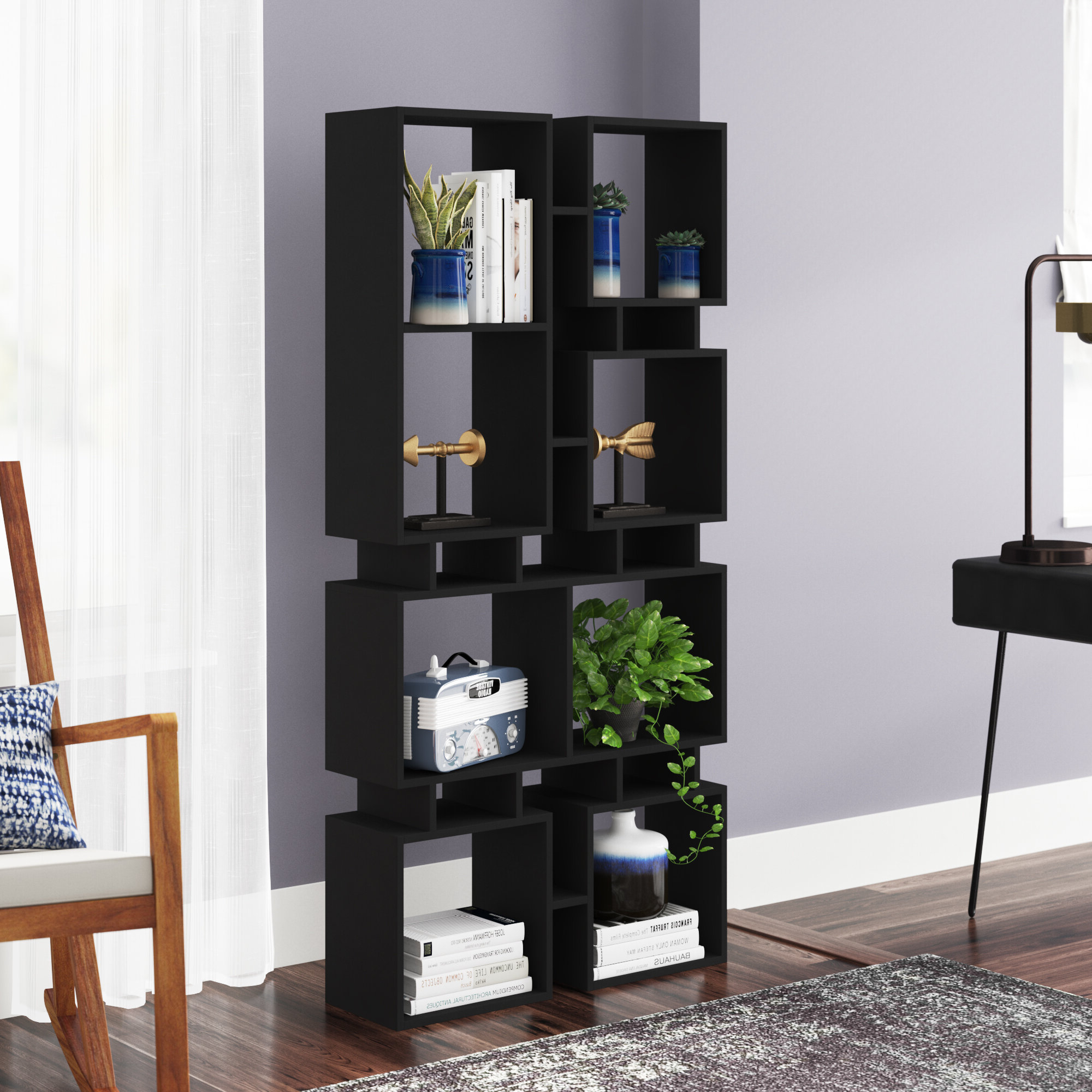Most Current Lancashire Cube Bookcases With Arthur Modern Cube Bookcase (View 7 of 20)