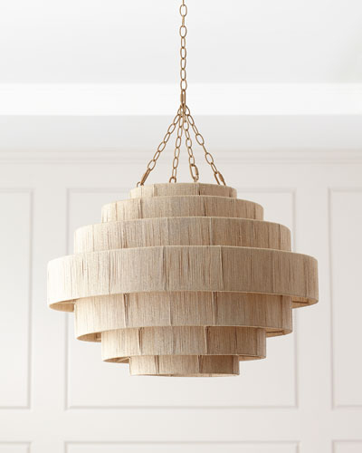 Most Current Pendant Lighting At Horchow Pertaining To Jill 4 Light Drum Chandeliers (View 12 of 25)