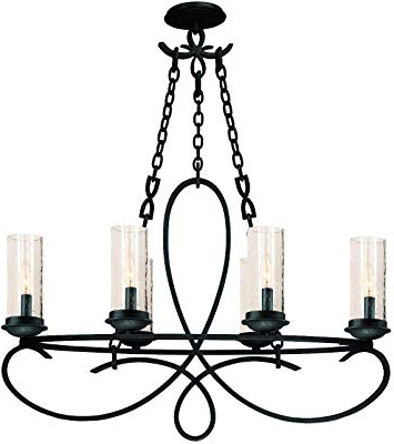 Most Current Quoizel Ckad5005Pn Aldora With Palladian Bronze Finish Within Aldora 4 Light Candle Style Chandeliers (View 23 of 25)