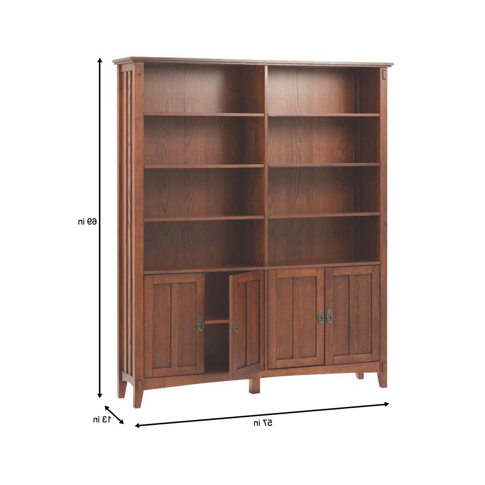 Most Current Series C Standard Bookcases With Home Decorators Collection Artisan Medium Oak Storage Open (View 18 of 20)
