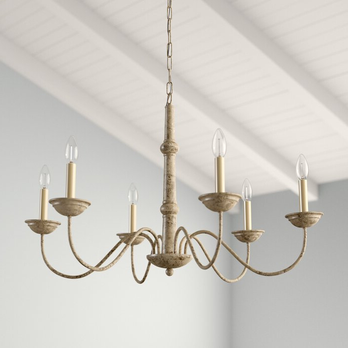 Most Current Shaylee 6 Light Candle Style Chandeliers With Seneca 6 Light Candle Style Chandelier (View 14 of 25)