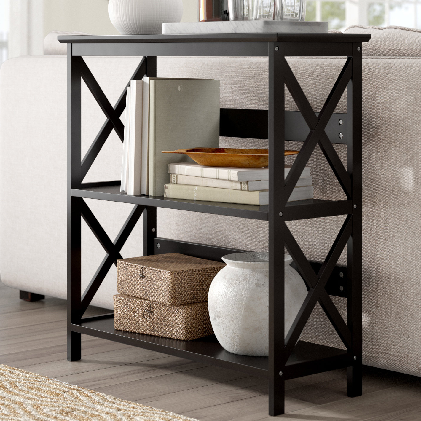 Most Current Stoneford Etagere Bookcase Throughout Kettner Etagere Bookcases (View 6 of 20)