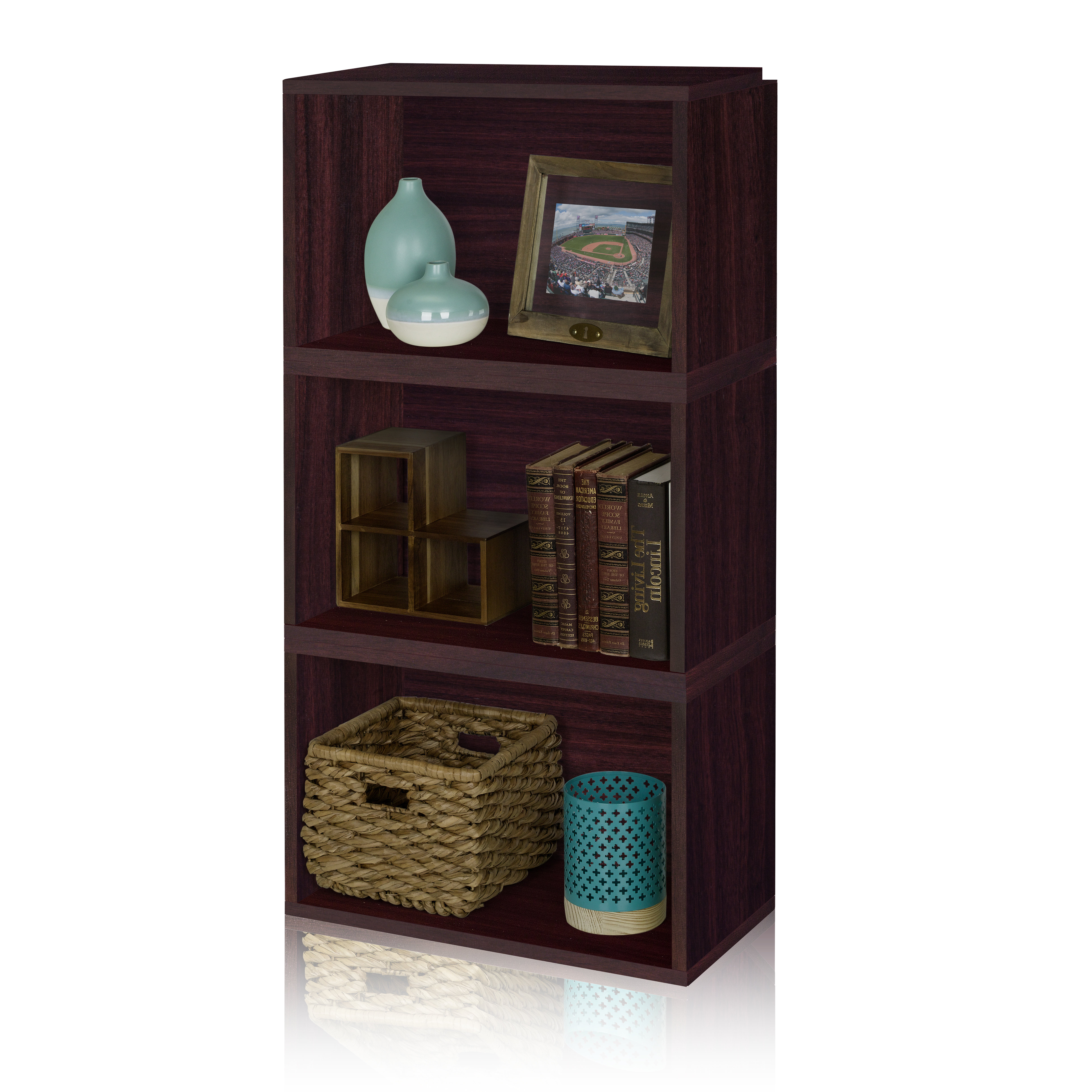 Most Current Tinoco Storage Shelf Standard Bookcases Pertaining To Andrade Standard Bookcase (View 10 of 20)