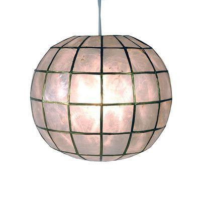 Most Current World Menagerie Nolan 1 Light Single Globe Pendant With Regard To Nolan 1 Light Lantern Chandeliers (View 24 of 25)