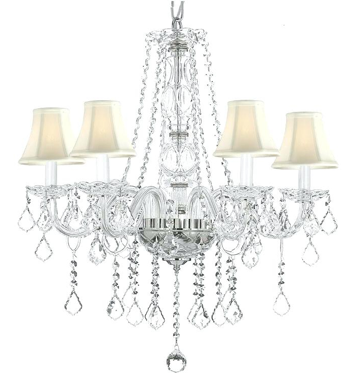 Most Popular 5 Light Shaded Chandelier Chandeliers 5 Light Shaded Inside Crofoot 5 Light Shaded Chandeliers (View 15 of 25)