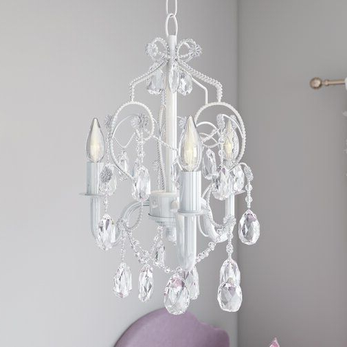 Most Popular Aldora 3 Light Candle Style Chandelier In (View 8 of 25)