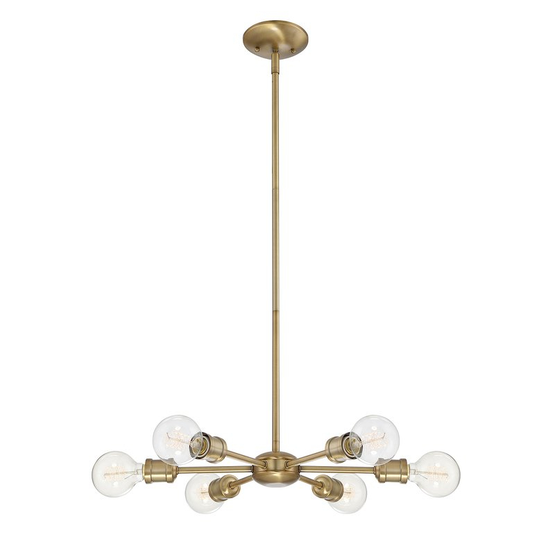 Featured Photo of Bautista 6 Light Sputnik Chandeliers