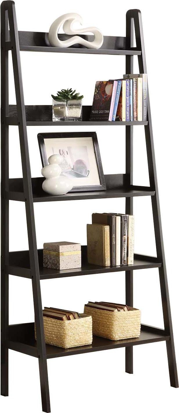 Most Popular Blevens A Frame Ladder Bookcases Regarding Ladder Bookcase (View 16 of 20)