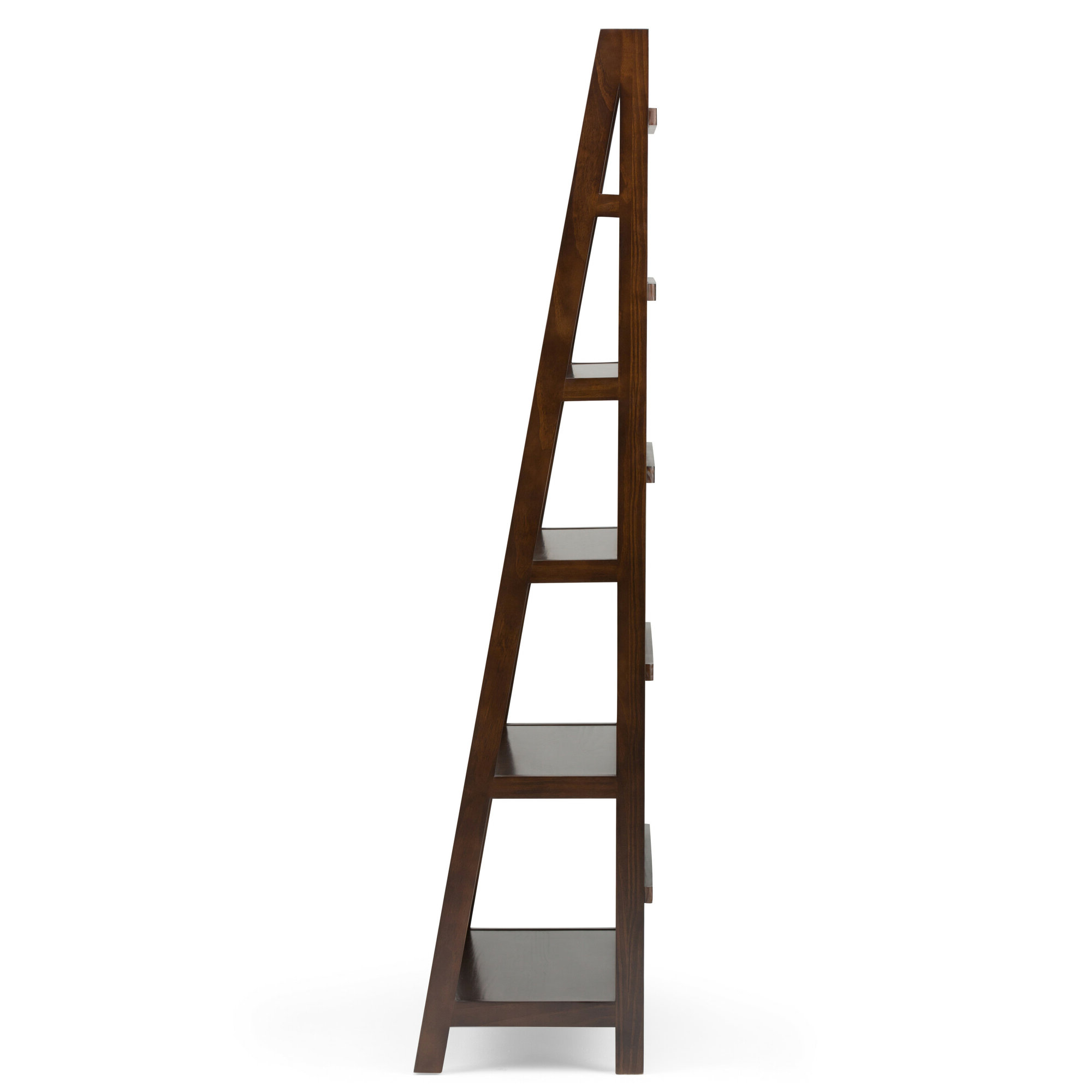 Most Popular Details About Alcott Hill Mayna Ladder Bookcase Regarding Mayna Ladder Bookcases (View 16 of 20)