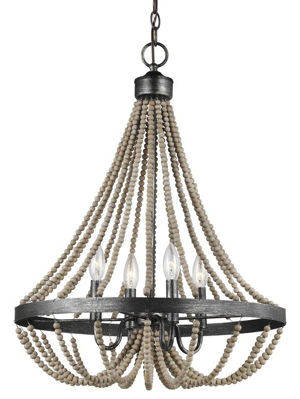 Most Popular Duron 5 Light Empire Chandeliers With Regard To New Braunfels 4 Light Empire Chandelier (View 15 of 25)