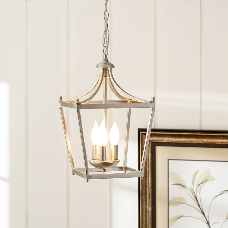 Most Popular Gabriella 3 Light Lantern Chandelier In Gabriella 3 Light Lantern Chandeliers (View 16 of 25)