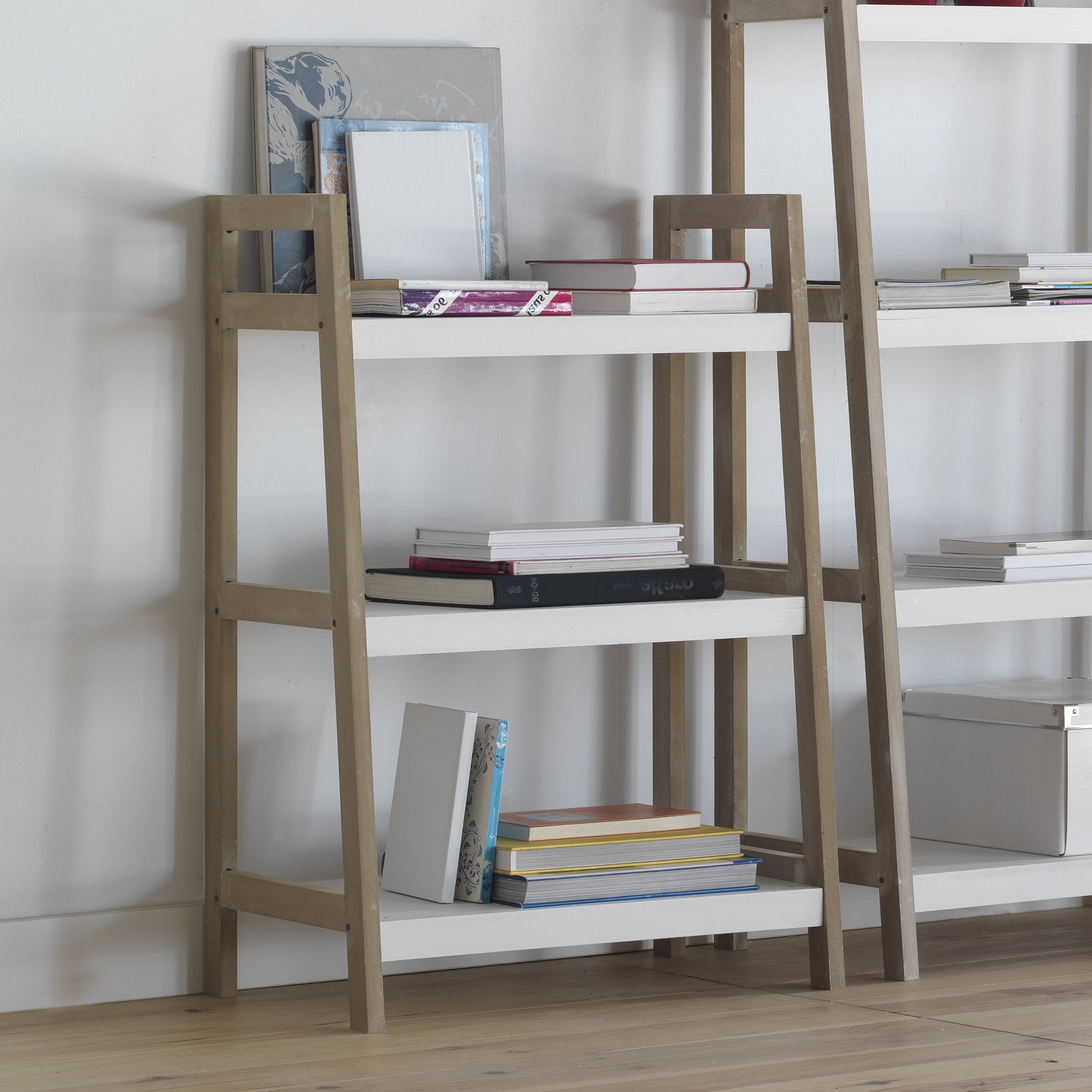 Most Popular Geese Low Ladder Bookcase (View 11 of 20)