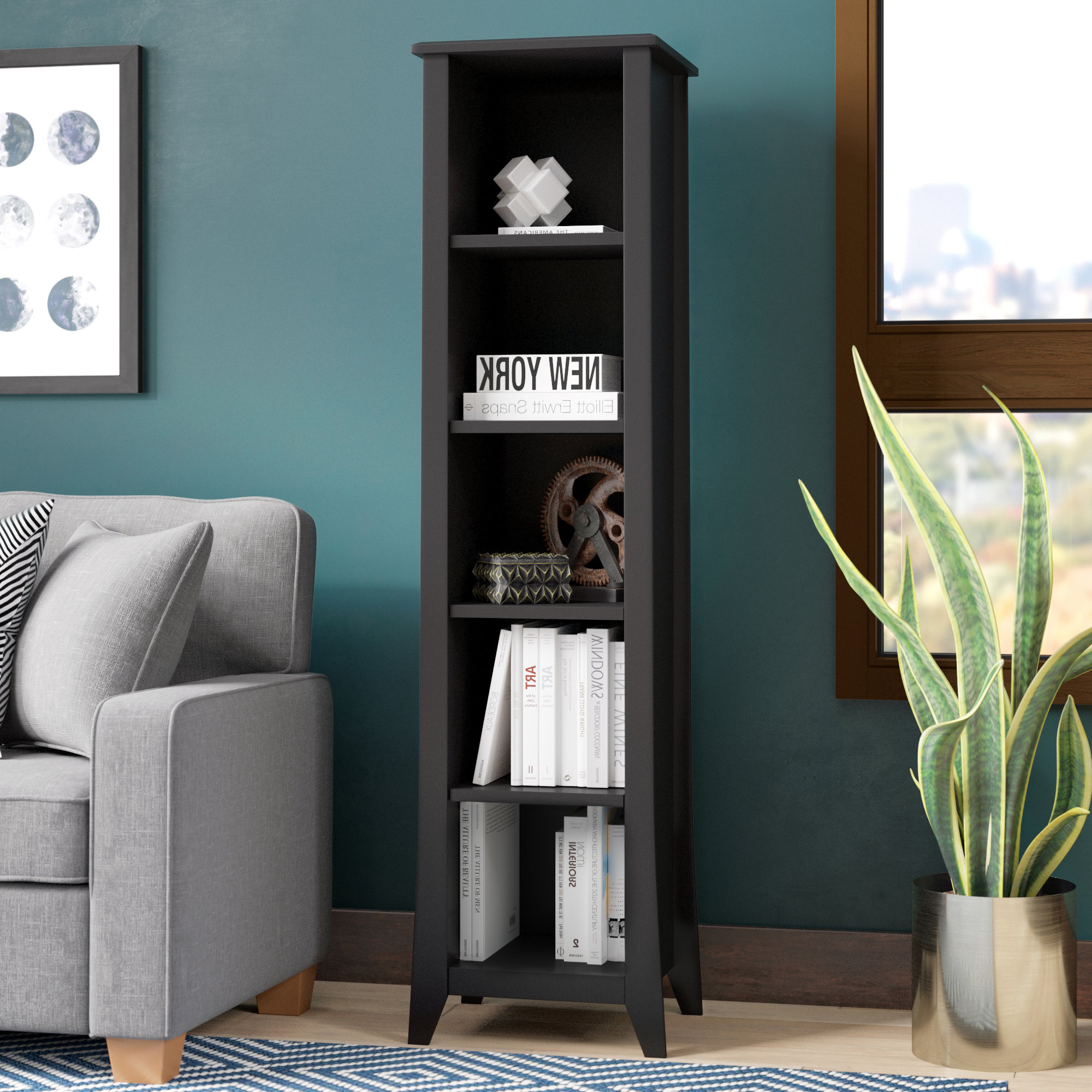 Most Popular Martinsville Standard Bookcases For Lorren Standard Bookcase (View 17 of 20)