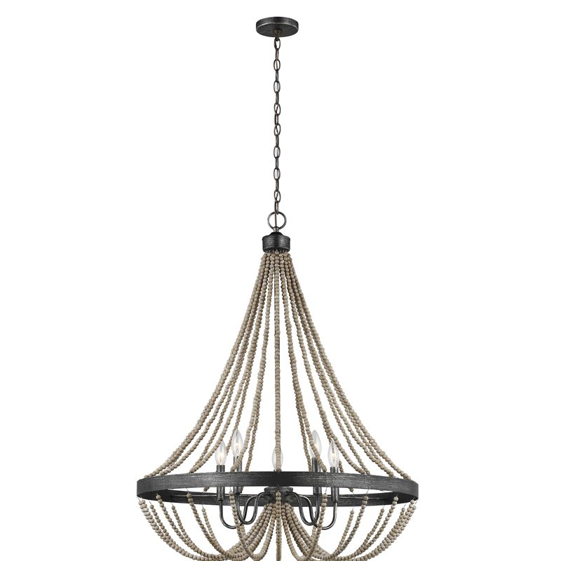 Most Popular New Braunfels 5 Light Empire Chandelier Throughout Ladonna 5 Light Novelty Chandeliers (View 6 of 25)