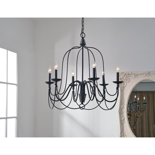 Most Popular Watford 6 Light Candle Style Chandeliers For Watford 6 Light Candle Style Chandelier (View 1 of 25)