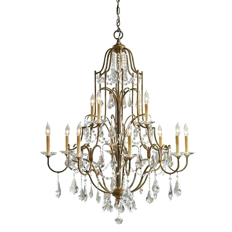 Most Recent 12 Light Chandelier Regarding Vroman 12 Light Sputnik Chandeliers (View 10 of 25)