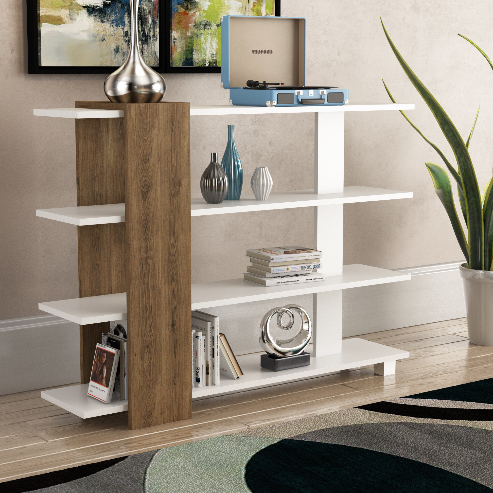 Most Recent Camron Standard Bookcase In Moeller Standard Bookcases (View 14 of 20)