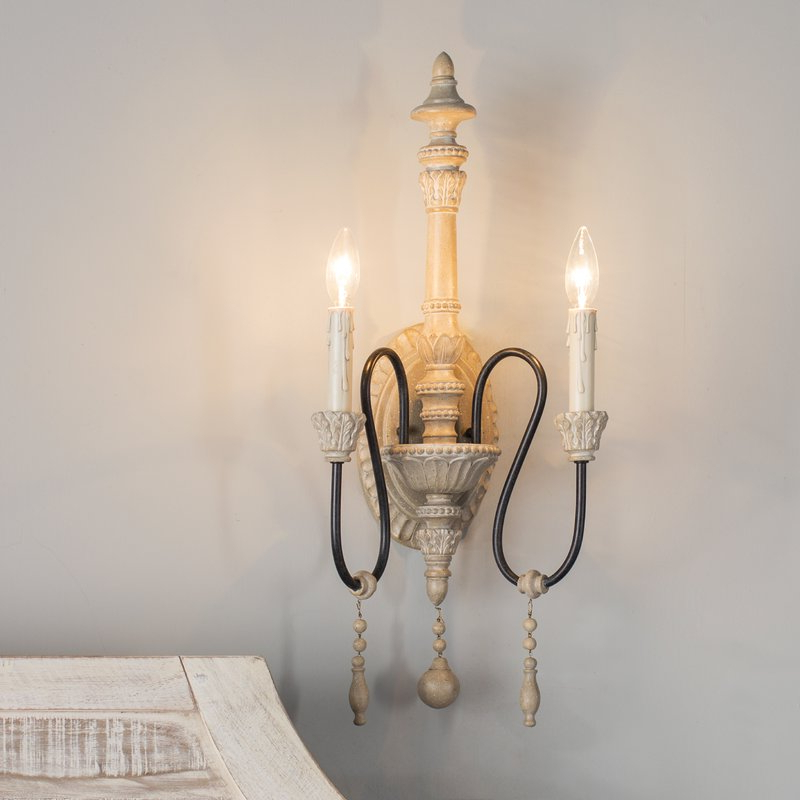 Most Recent Corneau 5 Light Chandeliers Within Corneau 2 Light Candle Wall Light (View 10 of 25)