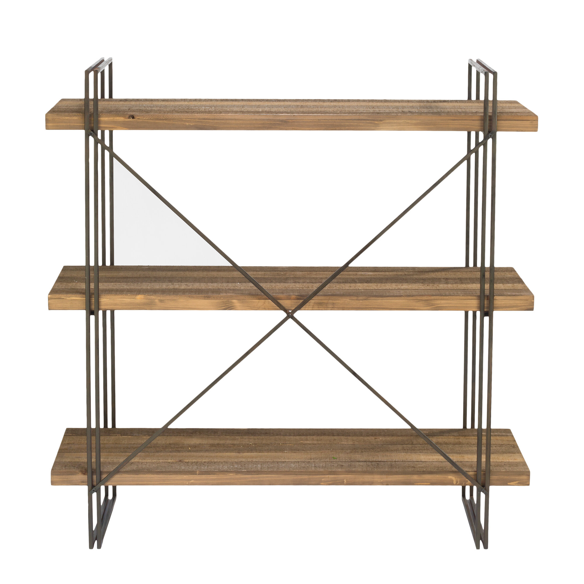 Most Recent Earline Etagere Bookcases Pertaining To Schlegel Etagere Bookcase (View 11 of 20)