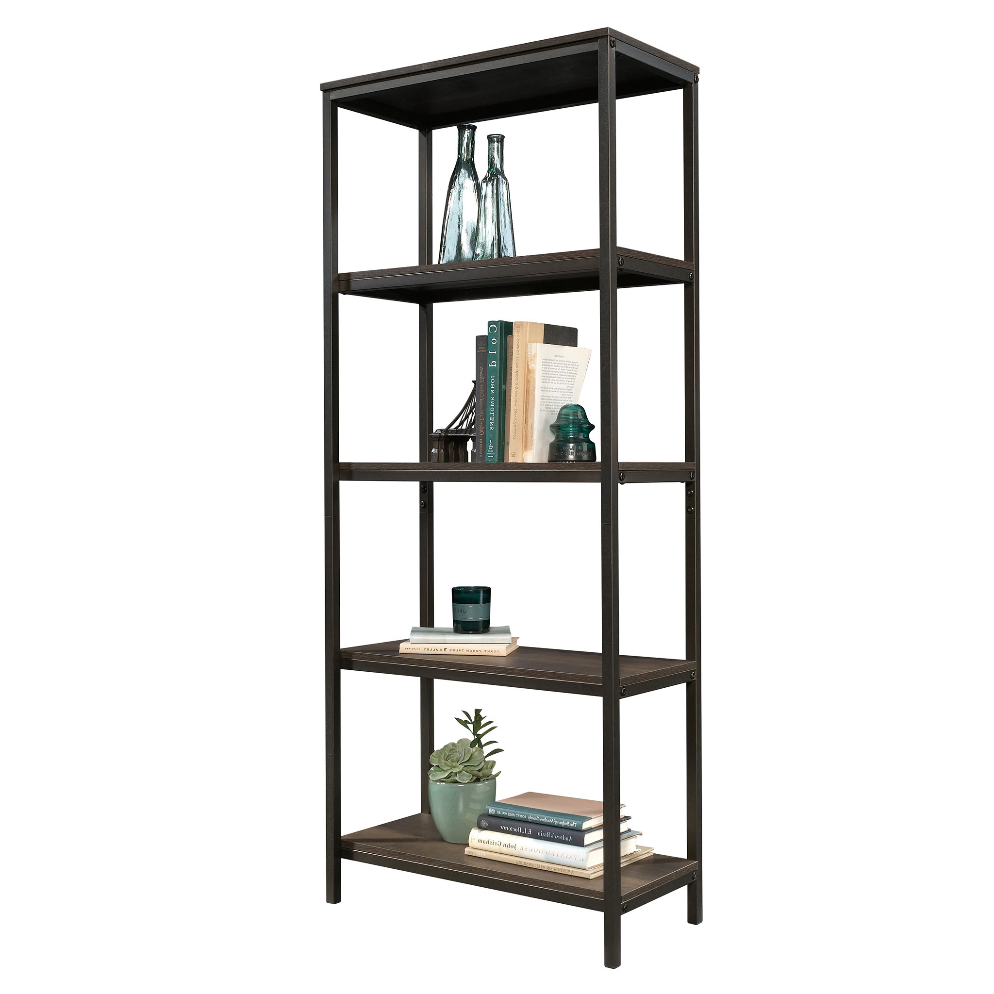 Most Recent Ermont Etagere Bookcase Intended For Ermont Etagere Bookcases (View 3 of 20)
