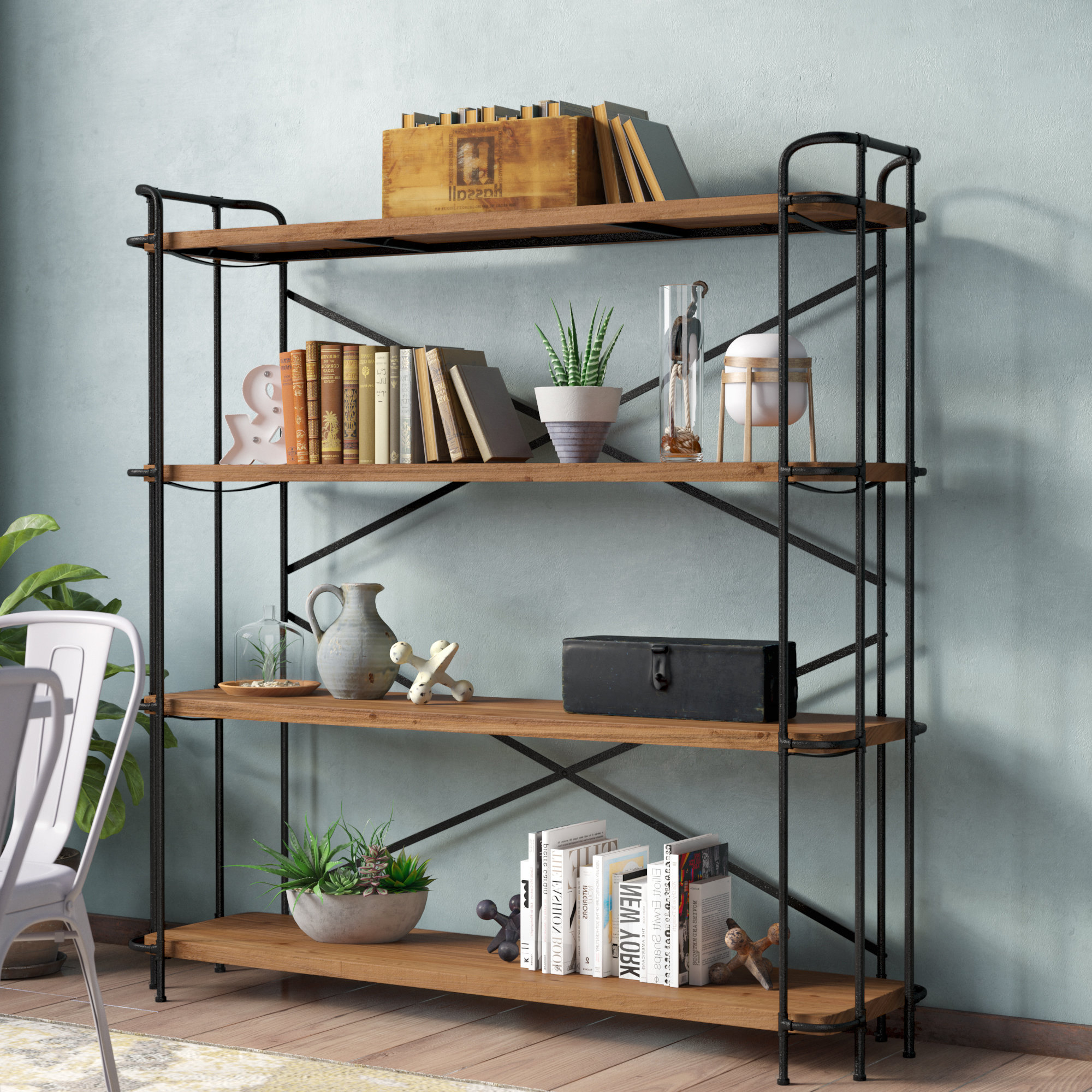 Most Recent Etagere Bookcase With Regard To Whidden Etagere Bookcases (View 6 of 20)