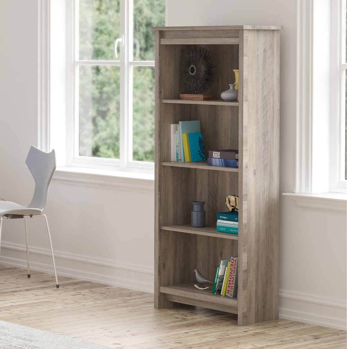 Most Recent Kiley Standard Bookcases Throughout Millom Standard Bookcase (View 17 of 20)