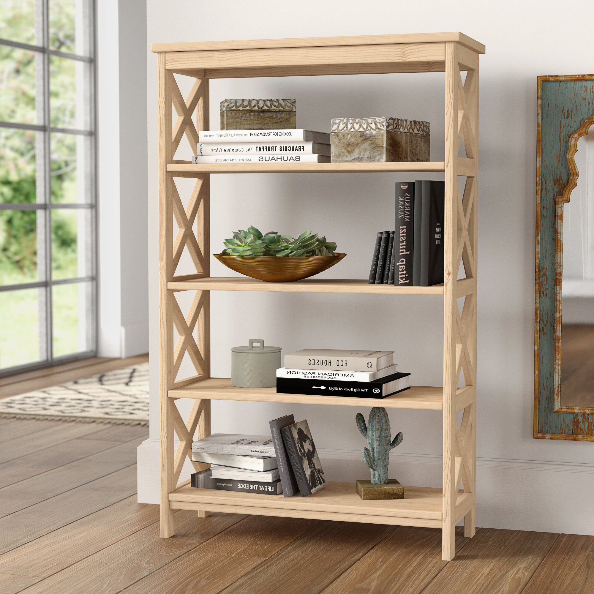 Most Recent Lynn Etagere Bookcase Pertaining To Baguia Etagere Bookcases (View 6 of 20)