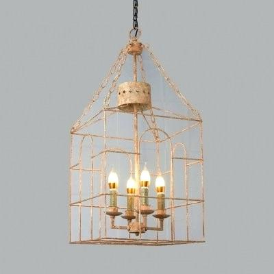 Most Recent Perseus 6 Light Candle Style Chandeliers Throughout Cage Style Chandelier – Myrleservais (View 8 of 25)