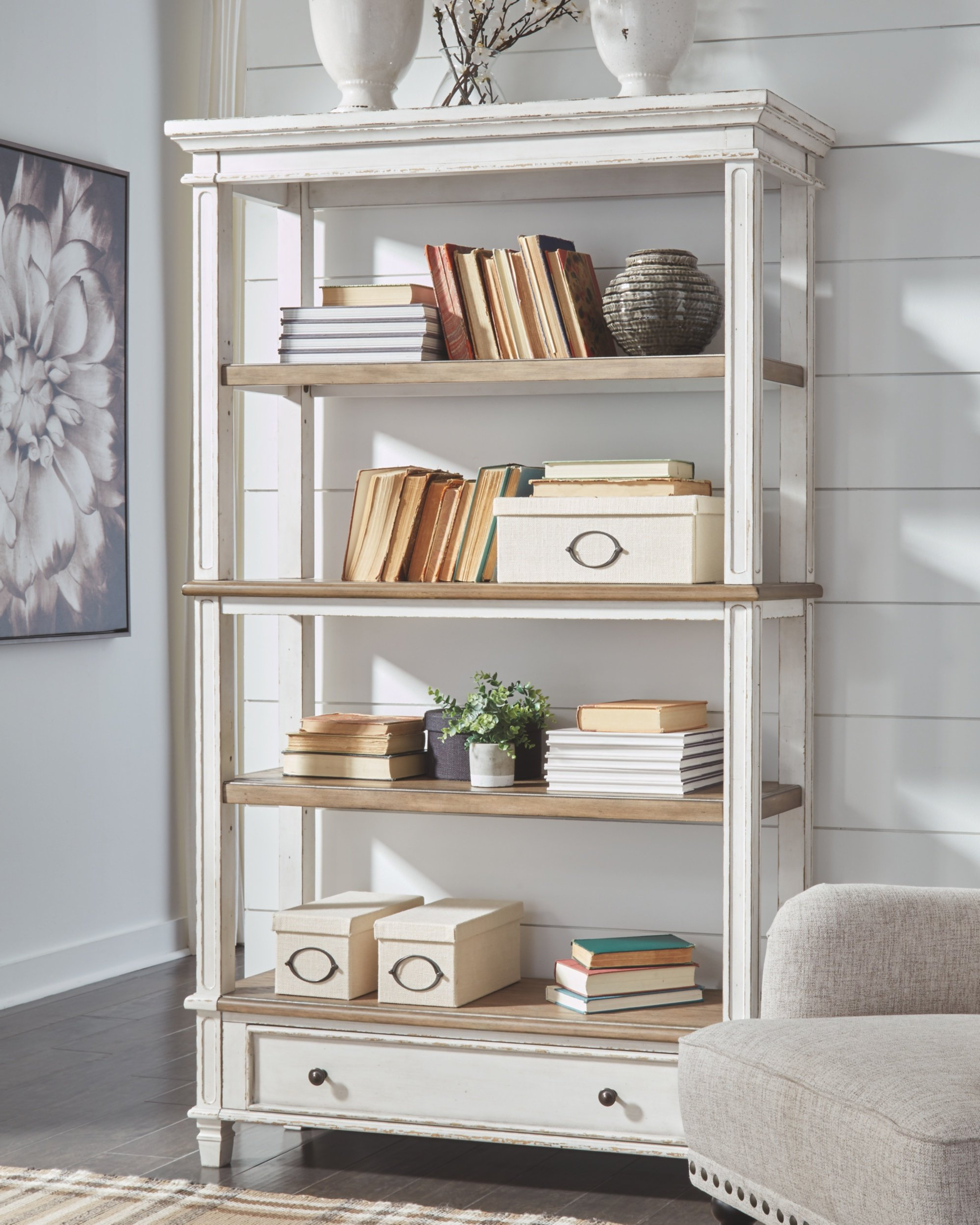 Most Recent Sara Etagere Bookcase For Oakside Etagere Bookcases (View 16 of 20)