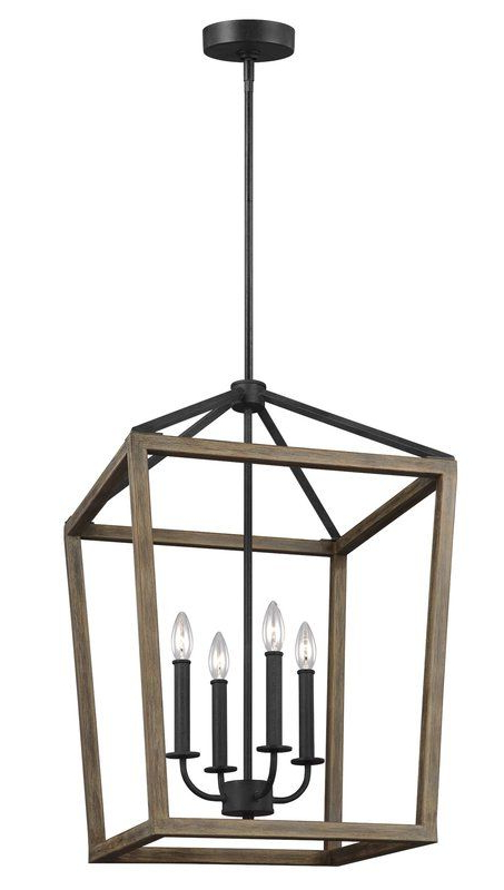 Most Recently Released 4 Light Lantern Square / Rectangle Pendant In 2019 With Regard To 4 Light Lantern Square / Rectangle Pendants (View 12 of 25)