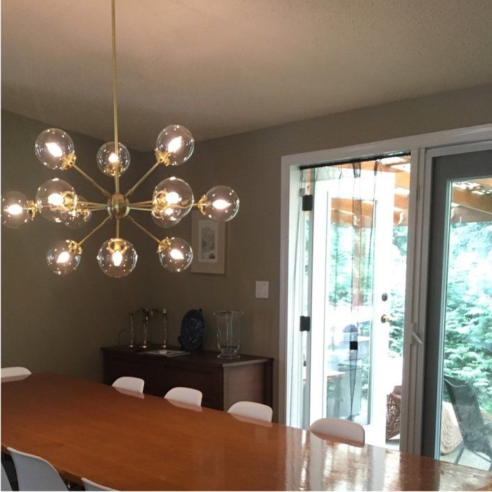 Most Recently Released Asher 12 Light Sputnik Chandeliers Within Staggered Glass Chandelier 8 Light – Artofit (View 11 of 25)