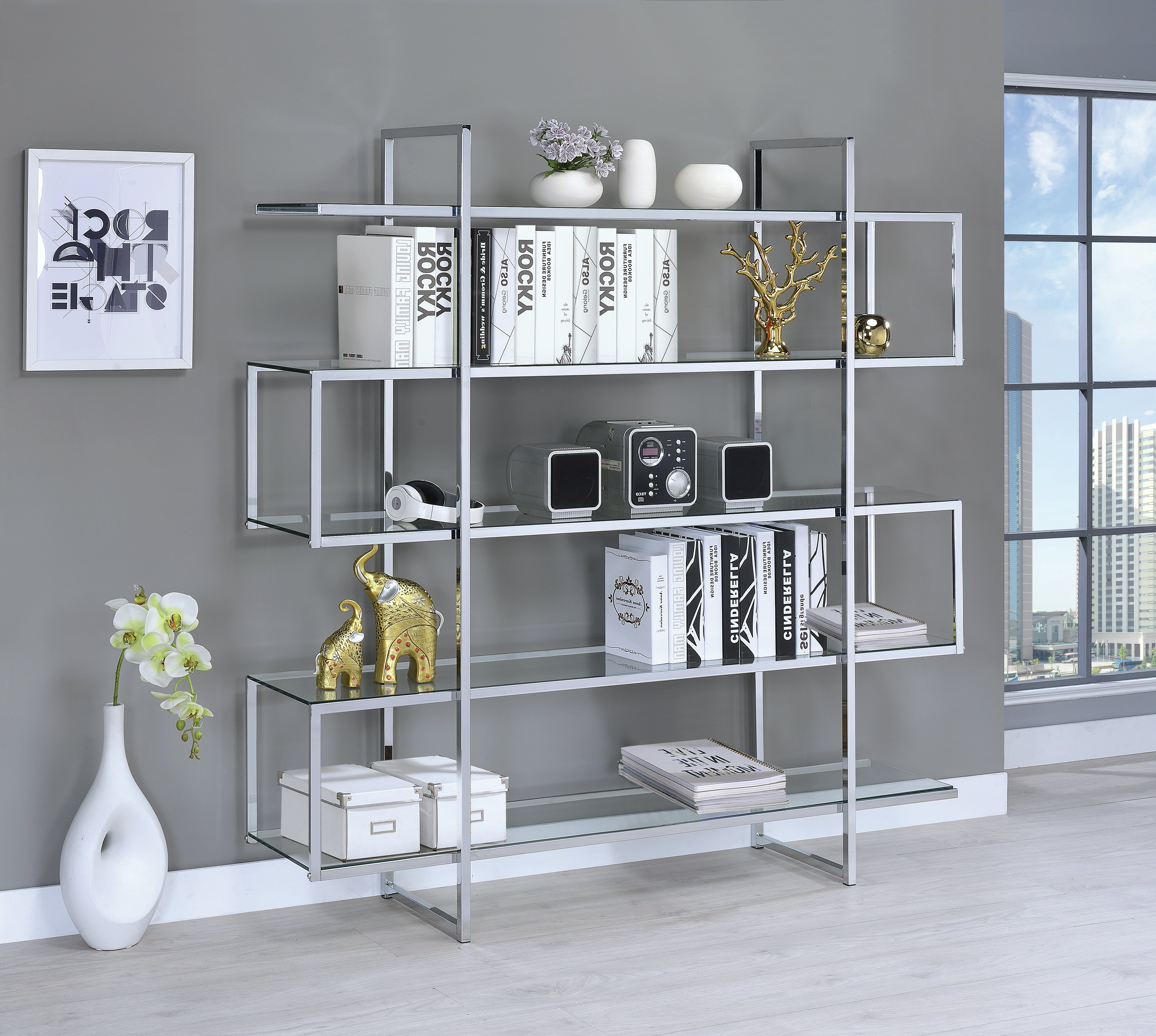Most Recently Released Baguia Etagere Bookcases Intended For Laguerre Etagere Bookcase (View 19 of 20)