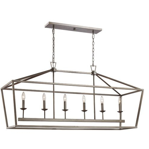 Most Recently Released Carmen 6 Light Kitchen Island Pendant (View 24 of 25)