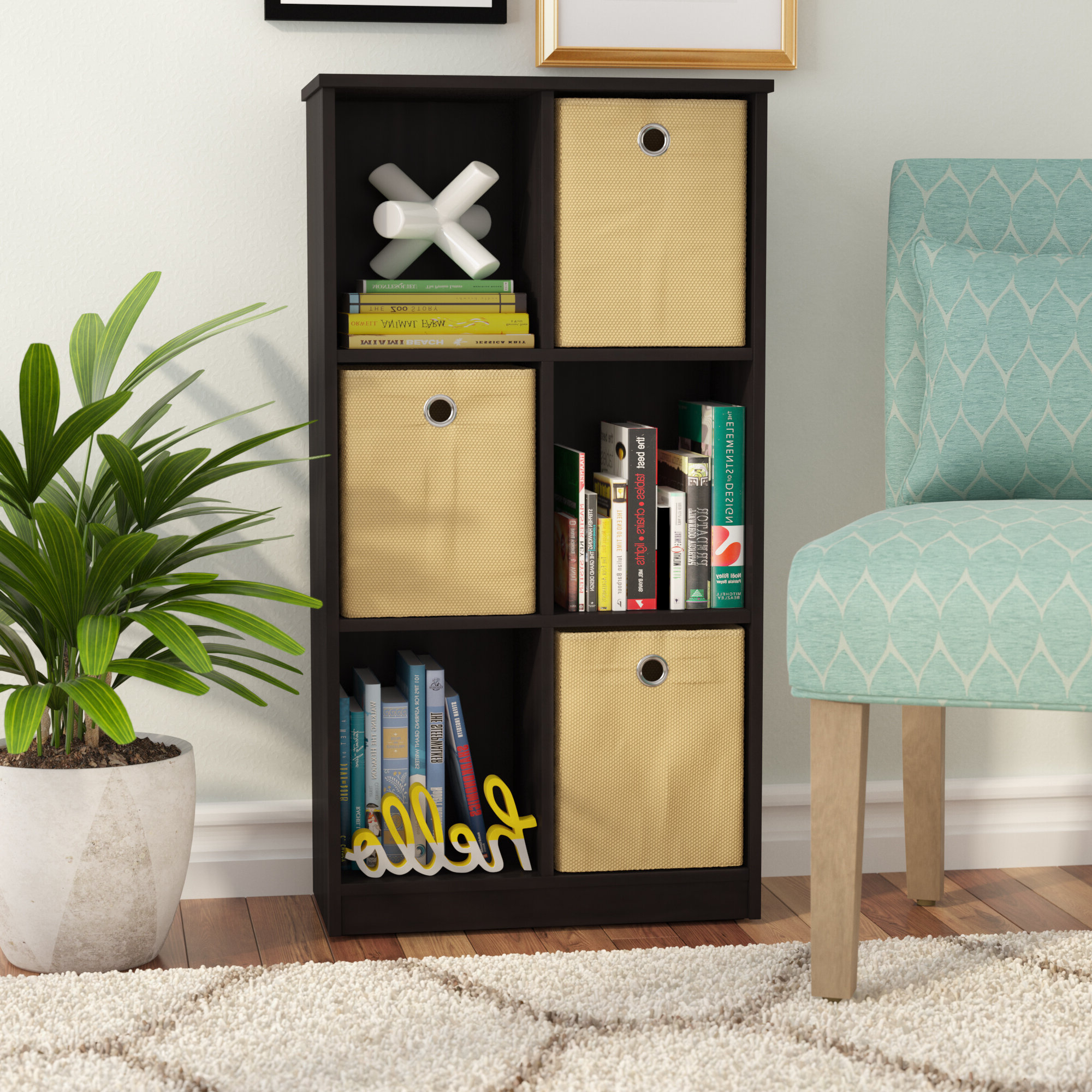 Most Recently Released Details About Ebern Designs Lancaer Standard Bookcase With Regard To Harkless Standard Bookcases (View 11 of 20)